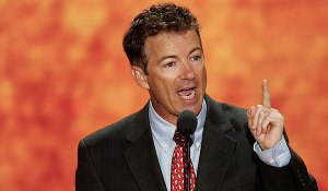 Senator Rand Paul (R) Kentucky - for the Tea Party