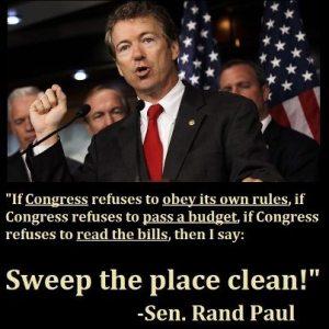 Senator Rand Paul (R) Kentucky