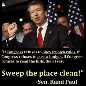 Senator Rand Paul (R) Kentucky