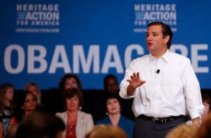 Senator Ted Cruz Speaks At The Heritage Action Defund Obamacare Town Hall