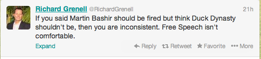 Grenell works for Fox