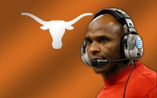 Charlie Strong, apparently breaking more historical ground in Texas than being elected President