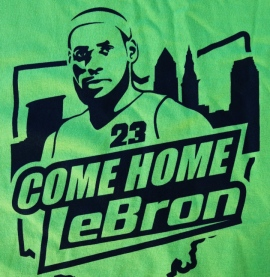 Is Cleveland big enough for Bron Bron and Johnny Football?