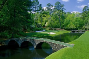 Ray's Creek - Start of Amen Corner -The Masters