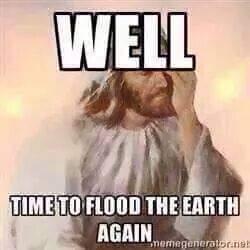 Jesus' reaction when we hit 100 episodes.