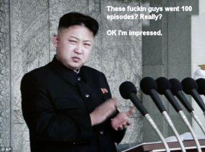 High praise from The Leader. Thanks Kim.