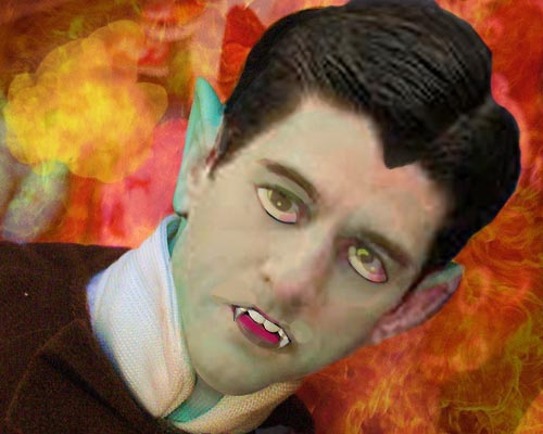 New Spooker of The haunted House. Paul 'Eddie Munster' Ryan