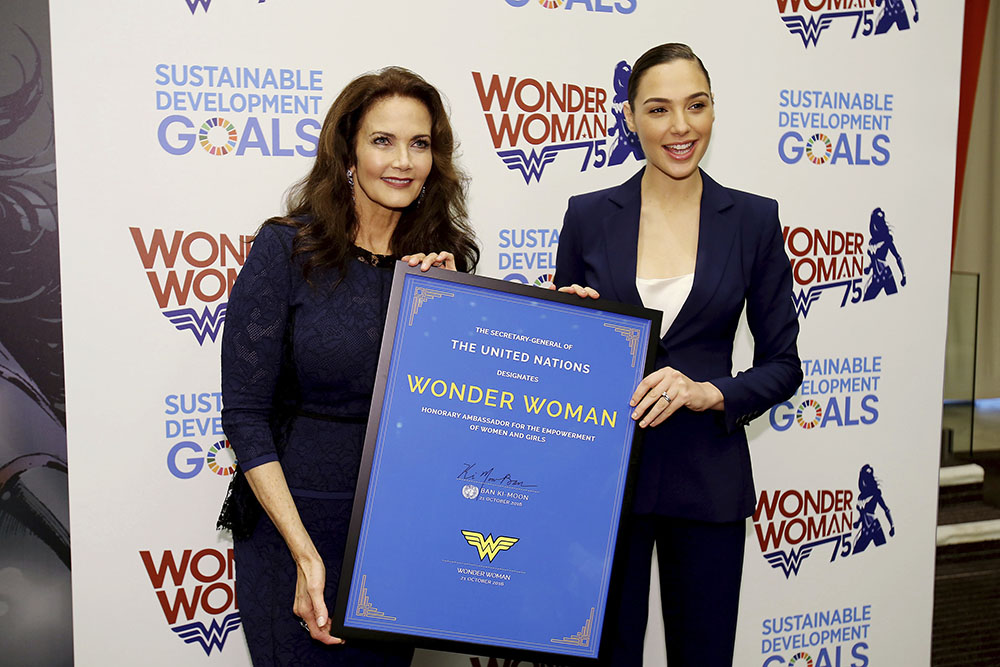 End the UN. Free Wonder Woman!